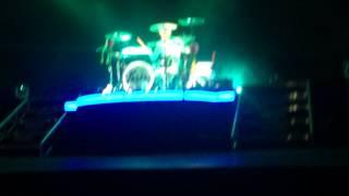 Tristan Evans drum solo | Meet the vamps tour. thumbnail