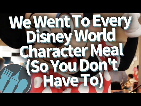 We Went To Every Disney World Character Meal (So You Don't Have To!)