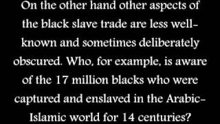 The Islamic slave trade -  The untold story   Introduction part 1 of 5
