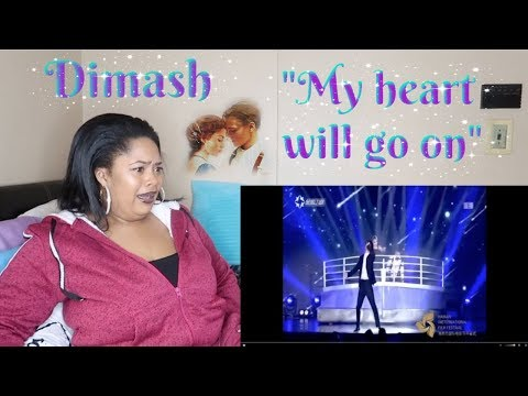 Dimash-My heart will go onReaction Played with my heart to much🥀❤️