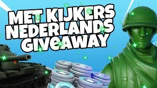 TOY STORY IN FORTNITE + MET KIJKERS /GIVEAWAY / NEDERLANDS|1.9K+WINS