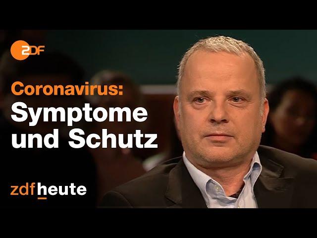 Virologe zu Coronavirus und Ansteckungsgefahr - Dr. Stürmer bei Lanz