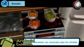 The Sims 3 (Android) - Cuisine de nuit