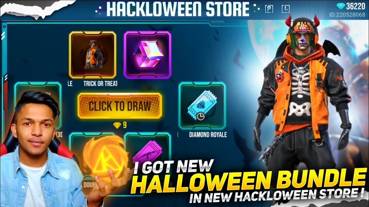 New Halloween Store Event I Got New Trick Or Treat Halloween Bundle And Magic Cube Garena Free Fire