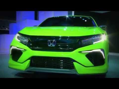 2016 Honda Civic Concept - 2015 Naias Reveal