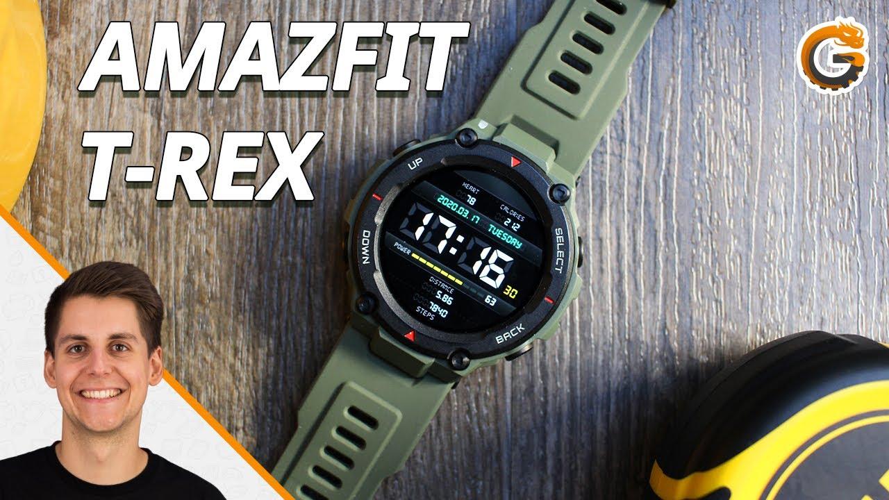 Amazfit T-Rex: Outdoor-Smartwatch mit Potenzial! - Hands-On