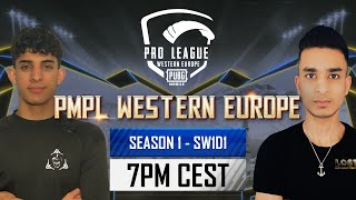 [EN] PMPL Western Europe SW1D1   Season 1   PUBG MOBILE Pro League 2021 The Climb to the Top Begins