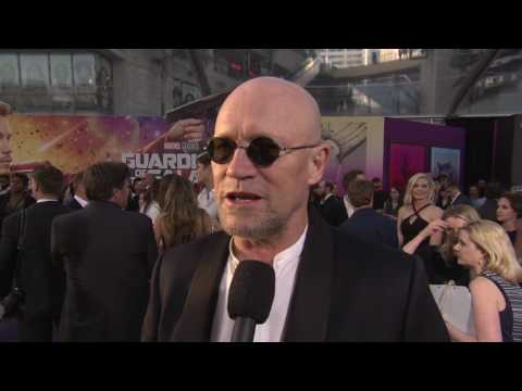 "Guardians of the Galaxy Vol. 2: Michael Rooker ""Yondu"" Red Carpet Movie Premiere Interview"
