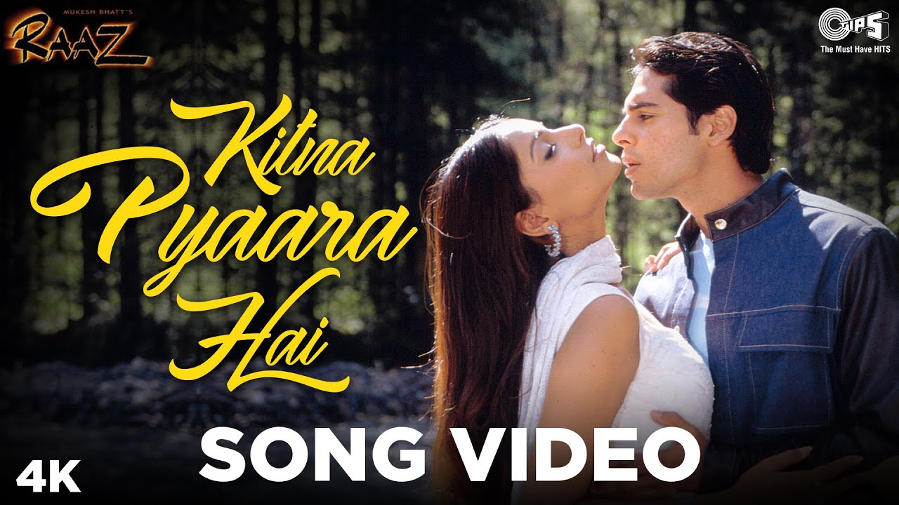 Kitna Pyaara Hai - Video Song   Raaz   Bipasha Basu & Dino Morea   Alka  Yagnik & Udit Narayan