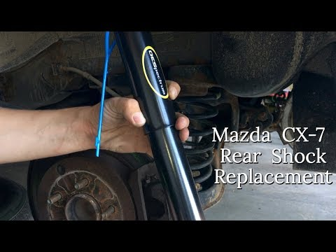 2007 – 13 Mazda CX-7 Rear Shock Replacement – DIY How To