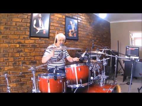 Eddie On Drums at Fame Music Academy