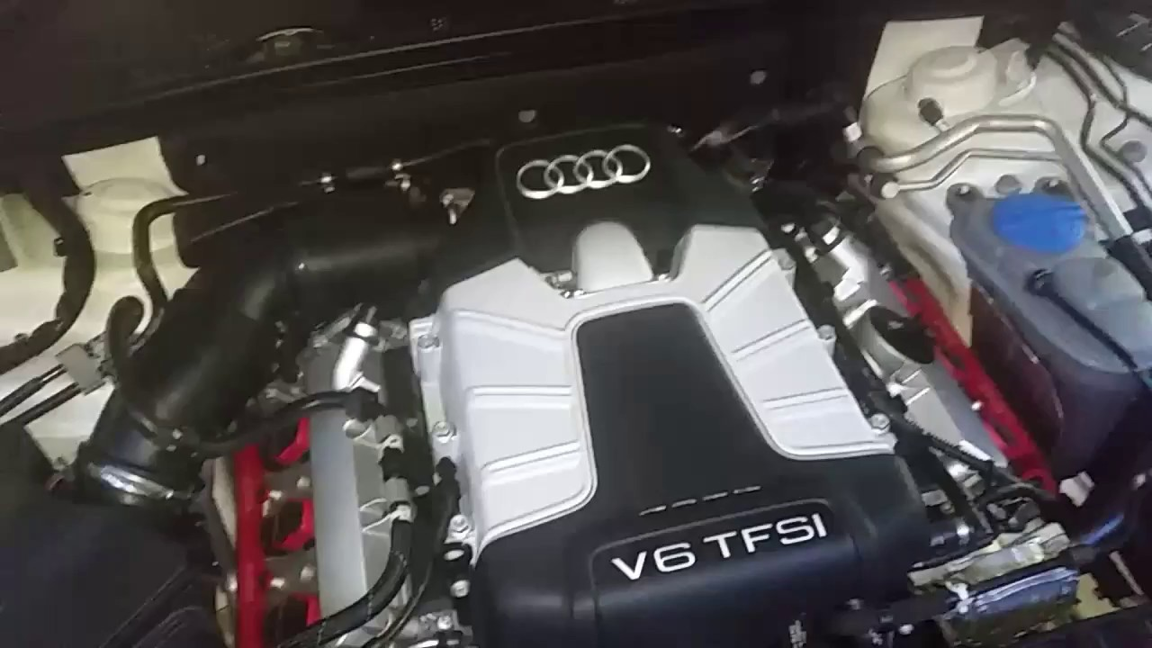 Audi S4 B85 S Tronic Cold Start Camchain Tensioner Noise Youtube