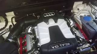 Audi S4 B8.5 S-Tronic cold start camchain tensioner noise