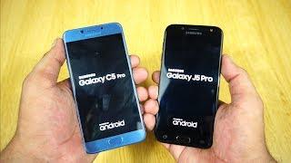 Samsung Galaxy J5 Pro (2017) vs Galaxy C5 Pro Speed Test [Urdu/Hindi]