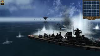 Destroying the German Battleship Bismarck - Pacific Storm