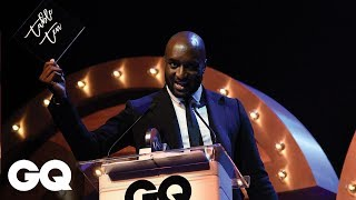 Virgl Abloh Dedicated His GQ Award To The People On His Table