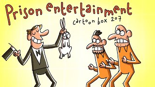 Prison Entertainment | Cartoon Box 207 | by FRAME ORDER | Funny prison cartoon