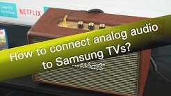 How to connect headphones or speaker with Samsung TV?