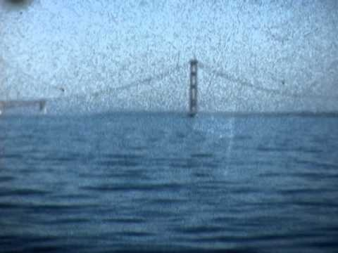 Straits of Mackinac - Spring 1956