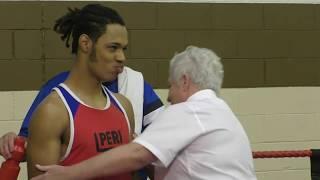 WABA 64kg Novice Championship Semi Final | Elijah Carrol Boxing