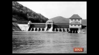 Unbekannte Bilder: So entstand das Wasserkraftwerk bei Affoldern