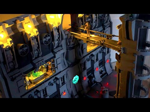 Lego star wars separatist droid base on carida youtube - Lego star wars base droide ...