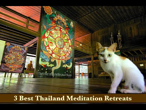 Meditation RETREATS in Thailand - 3 Best Retreat Options at Wats (Temples) in Thailand