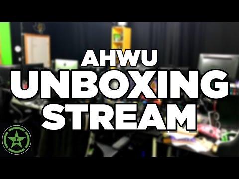 AHWU Unboxing Stream