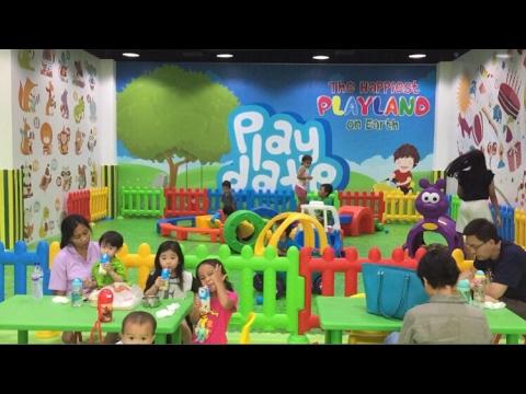 Playdate | The Happiest Playland on Earth | Zara Cute bermain di Playground bersama Teman