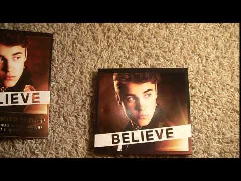 """Justin Bieber - Believe Album Deluxe editions """"unboxing"""""""