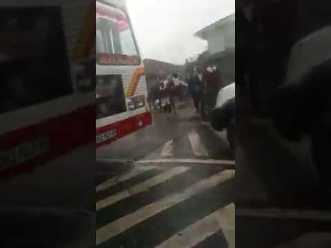 Road rage outside durban school