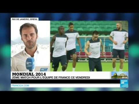 Mondial 2014 : les Bleus confiants avant le match face à la Suisse