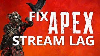 Apex Legends 100% GPU USAGE FIX - OBS Laggy Streams - VidVui
