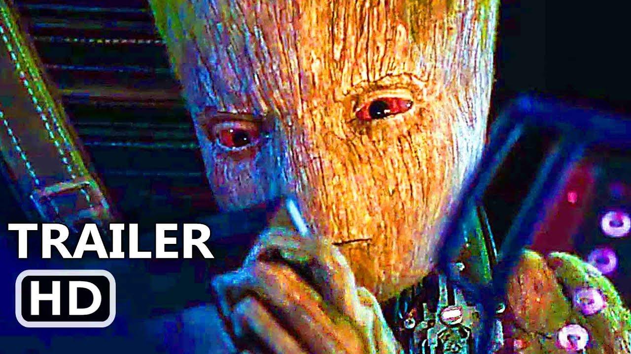"Download AVENGERS 3 INFINITY WAR ""Teen Groot Vs. Starlord"" TV Spot (2018) Superhero Movie HD"
