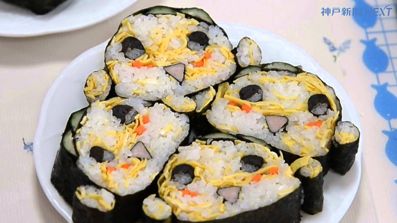 妖怪ウオッチの人気キャラ デコ巻き寿司
