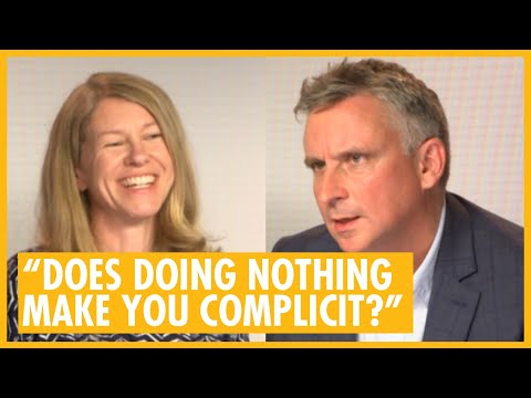 """Does Doing Nothing Make You Complicit?"" - Katharine Gun & Martin Bright Official Secrets Interview"