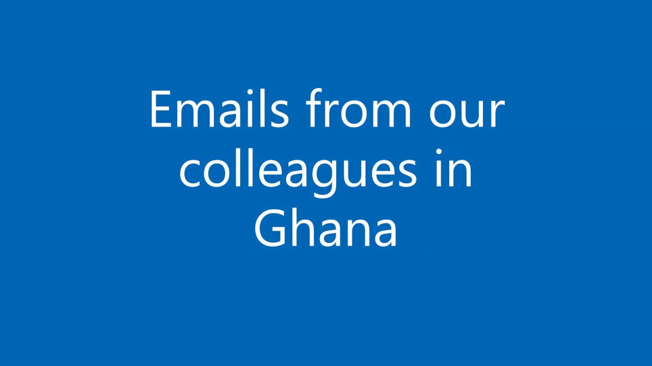 emails from ghana doctors