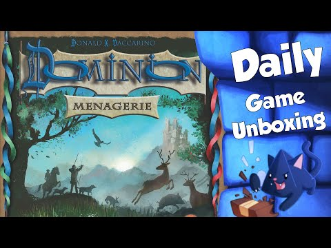 Dominion Menagerie - Daily Game Unboxing
