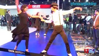 Spanish Dance at Tata Stall | Auto Expo 2016 | Manorama Online