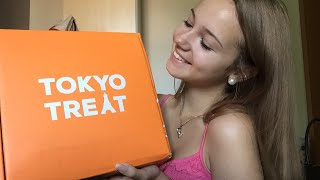 [ASMR] Unboxing Japanese Candys from TokyoTreat! Eating ASMR