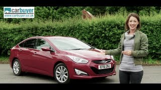 Hyundai i40 saloon review CarBuyer смотреть