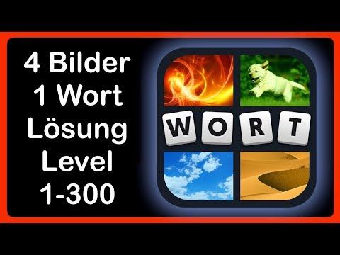 4 Bilder 1 Wort - Level 1-300 [HD] (iphone, Android, iOS)