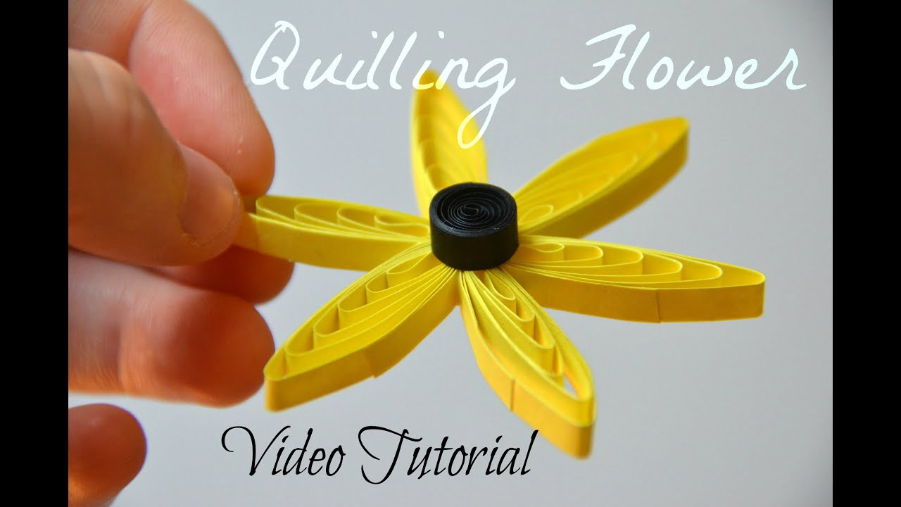 How To Make Paper Quilling Flowers With Comb Finest How To Make