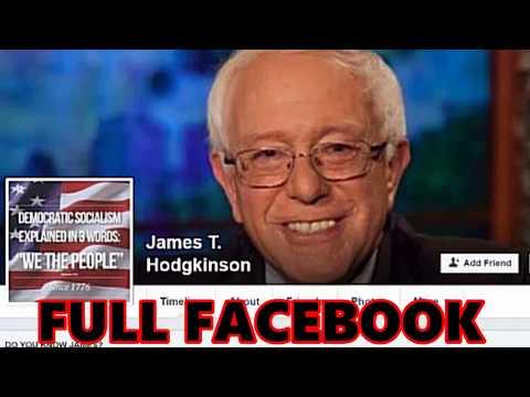Kill Republicans!  Rachel Maddow fan James T Hodgkinson Full COMPLETE FACEBOOK