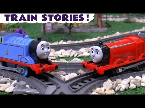 Thumbnail: Thomas & Friends Scary Pranks Toy Stories with Dinosaurs - Toys for Kids and children TT4U