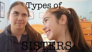 TYPES OF SISTERS | just tomboy things