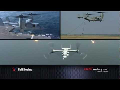 Bell-Boeing V-22 Osprey - Farnborough International Airshow 2012  |  1 min spot