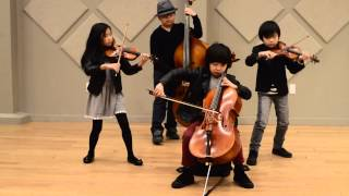 Youngest String Quartet Ever Performs Firework