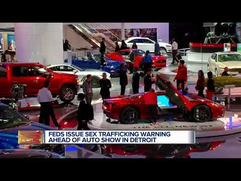 Feds issue sex trafficking warning ahead of auto show in Detroit