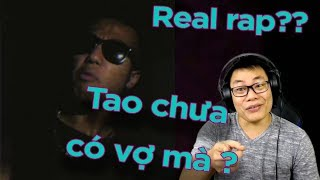 Mỹ Bướm nghe Real rap